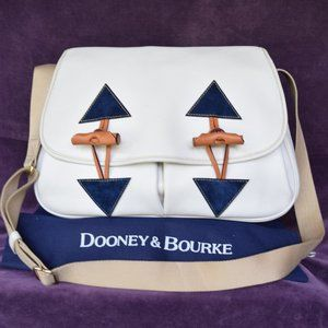 Dooney & Bourke Pebbled leather nubuck florentine